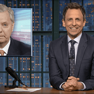 Seth Meyers Skewers Trump on Russian Hacking, Does a Perfect Lindsey Graham Impression – WATCH