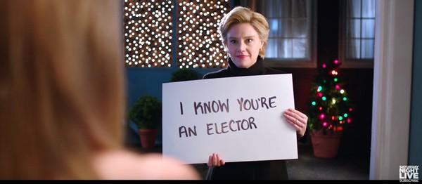 Hillary Love Actually