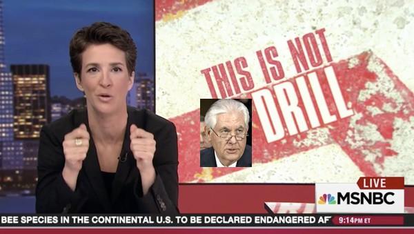 Rachel Maddow Rex Tillerson Exxon Russia