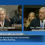 Sec'y of Defense Nominee James Mattis Grilled on Gays, Women in the Military: WATCH