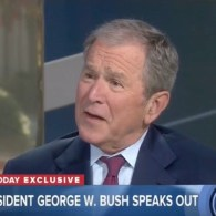 Former Presidents George H.W. Bush and George W. Bush Release Joint Statement Reacting to Neo-Nazi Rally