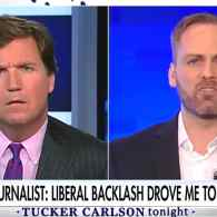 Gay Writer Chadwick Moore, Who Turned Conservative Over Milo Backlash, Whines to Tucker Carlson: WATCH