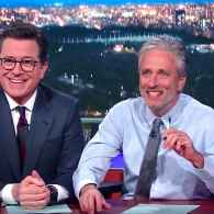 Jon Stewart Gives the Media Relationship Advice on Their Break-up with Trump: WATCH