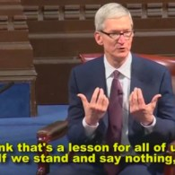 Apple CEO Tim Cook Speaks Out Against Trump's Muslim Travel Ban: WATCH