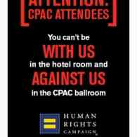 Human Rights Campaign Trolled CPAC Attendees on Grindr