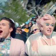 Katy Perry Visits a Groupthink Amusement Park in 'Chained to the Rhythm' Video: WATCH