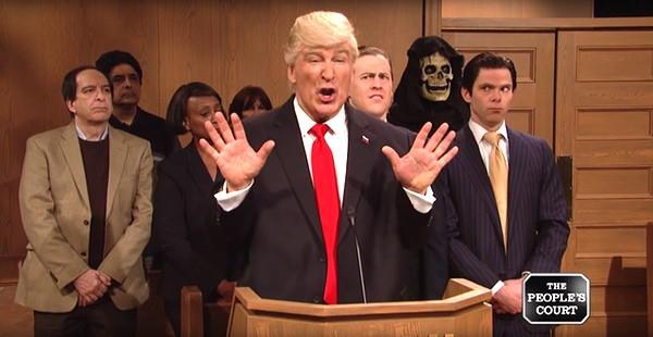 Peoples Court Trump