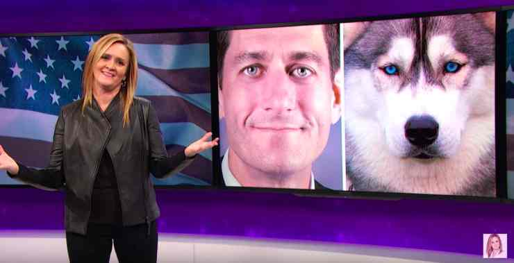 Samantha Bee Paul Ryan