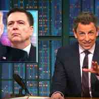 Seth Meyers Digs into the Insanity of Trump's 'Crazy' Tweeting During the FBI Hearing: WATCH