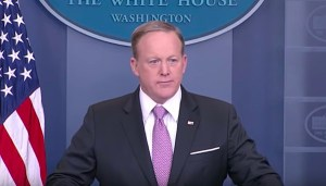 Spicer briefing