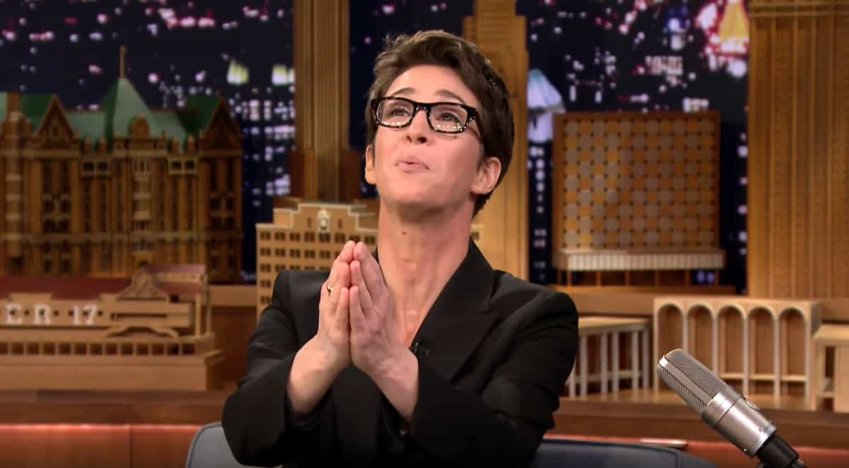 Rachel Maddow tax return