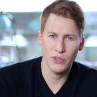Dustin Lance Black Signs Modeling Contract with Wilhelmina