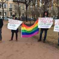 chechnya gay protest