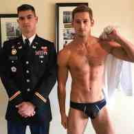 Max Emerson and Andres Camilo's Gay Army Prom Photos are Uniformly Romantic