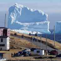 A Tiny Canadian Town Has a New Best Friend: This Massive, Gorgeous Iceberg