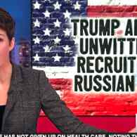 Rachel Maddow Unpacks News That a Trump Adviser Was Recruited by Russian Spies…with a Jared Kushner Twist: WATCH