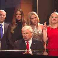 Donald Trump and His SNL Administration Sing 'Hallelujah' for SNL Cold Open: WATCH