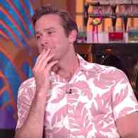 Armie Hammer Says There Was Wood Involved When He Kissed Leonardo DiCaprio in J. Edgar: WATCH