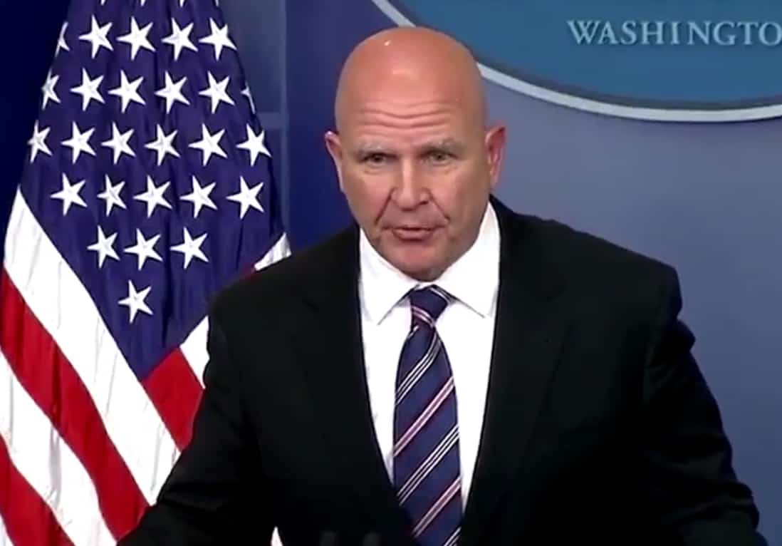 McMaster Mocked Trump's Intelligence In a Private Dinner