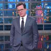 Colbert Trump resign