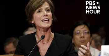 Sally Yates testimony