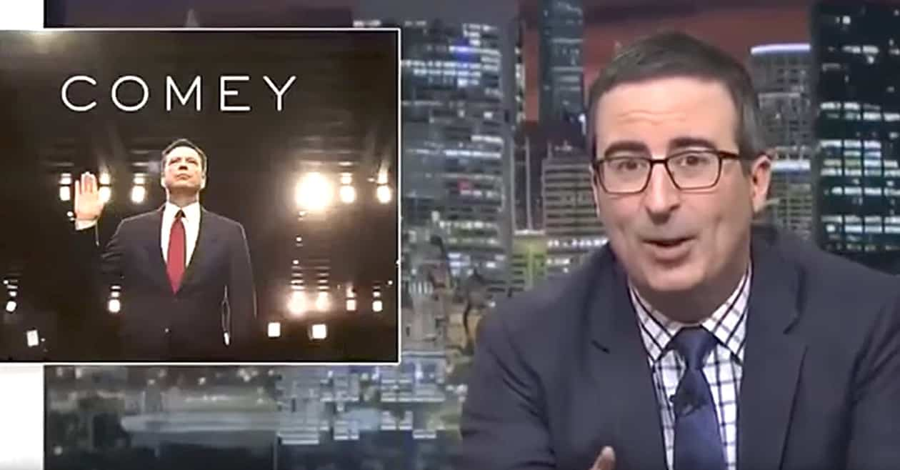 John Oliver: The most important thing in James Comey's testimony