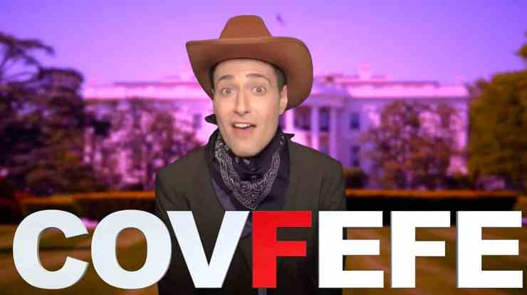 Randy Rainbow Covfefe