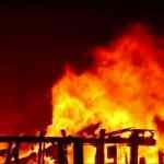fire island Pines burns