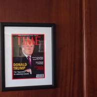 Donald Trump Displays Fake 'TIME' Magazine Covers Lauding Him at His Golf Resorts