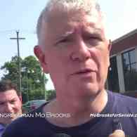 Rep. Mo Brooks Uses Congressional Baseball Shooting Footage in Campaign Ad, Claims He Isn't Politicizing Tragedy: WATCH