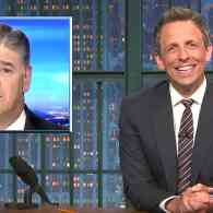 Seth Meyers Looks Into Sean Hannity's Obsession with the Trump Pee Pee Tapes: WATCH