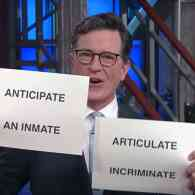 Stephen Colbert Plays Kellyanne Conway's Word Game: WATCH
