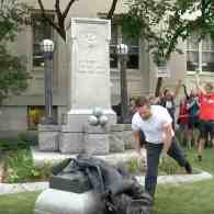 Protesters Topple Confederate Statue in Durham, NC: WATCH