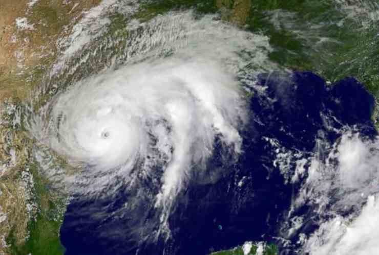 hurricane harvey satellite