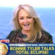 Bonnie Tyler Sings 'Total Eclipse of the Heart' Ahead of Today's Celestial Event: WATCH