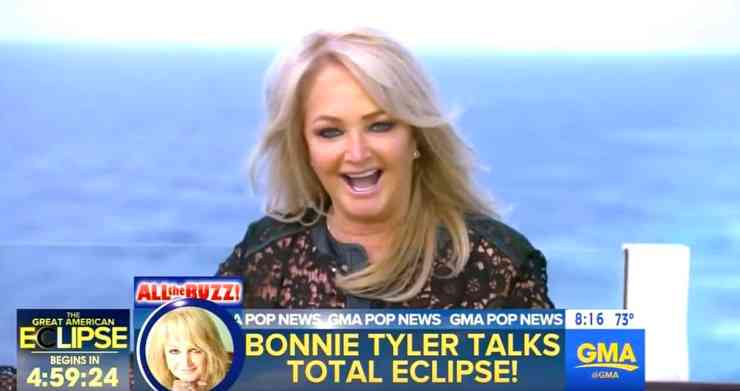 Bonnie Tyler total eclipse