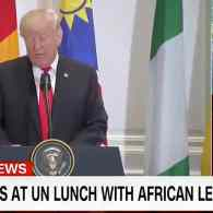 Trump Praises Nonexistent Country of 'Nambia' in Meeting with African Leaders