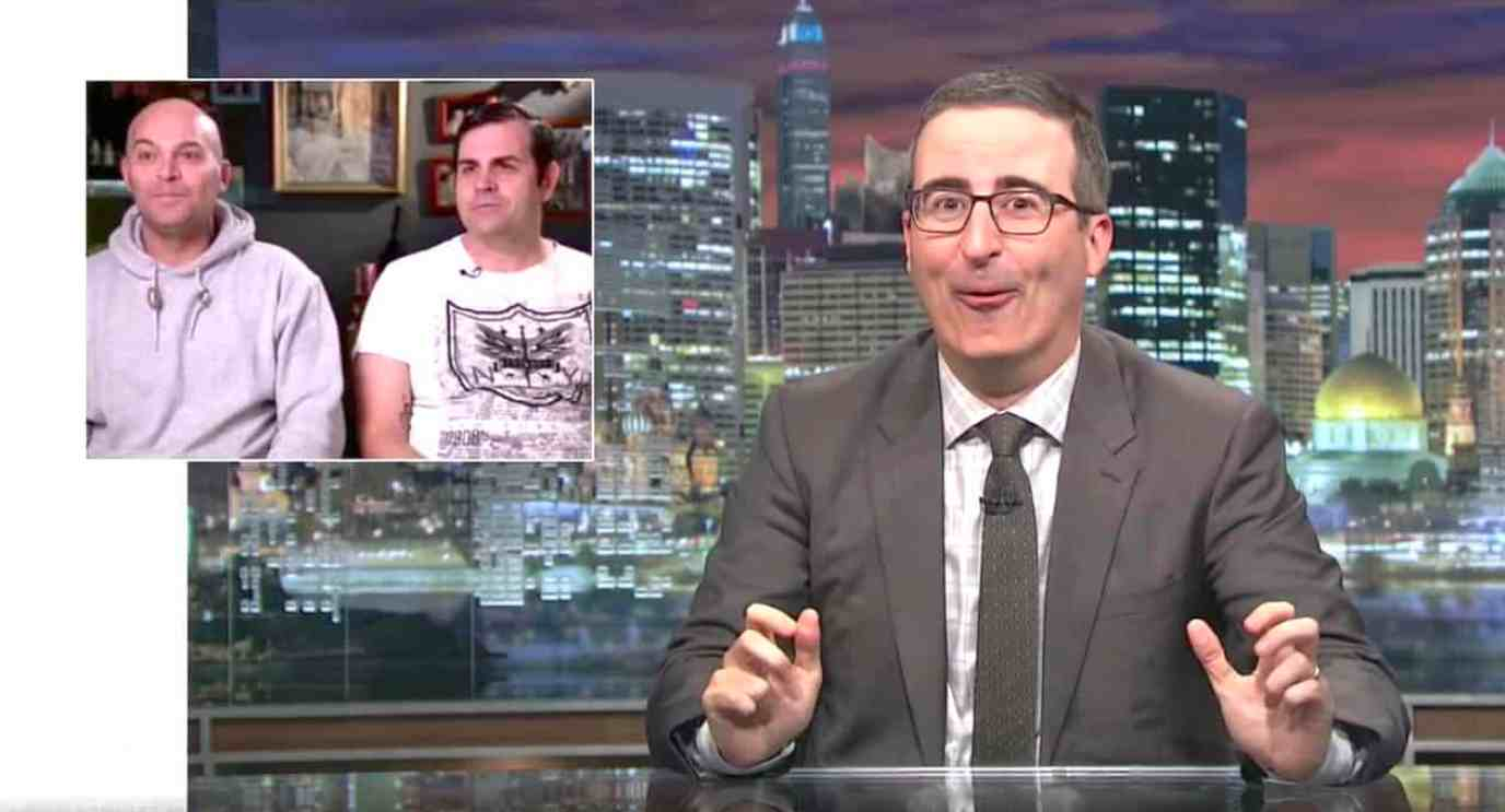 john oliver gay marriage