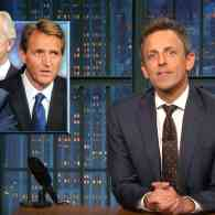 Seth Meyers Explains Why it's Impossible to Take Jeff Flake and Bob Corker's Attacks on Trump Seriously: WATCH