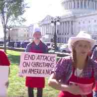 Conservative 'Cakeshop Squad' Sings Ridiculous Anti-Gay 'Achy Breaky Heart' Cover Outside Capitol: WATCH