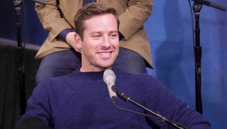 Armie Hammers testicles had to be edited out of Call Me