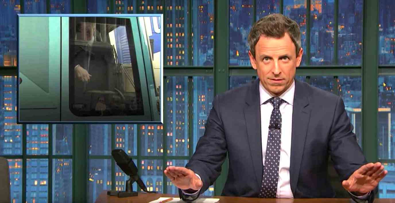 Seth Meyers access hollywood tape
