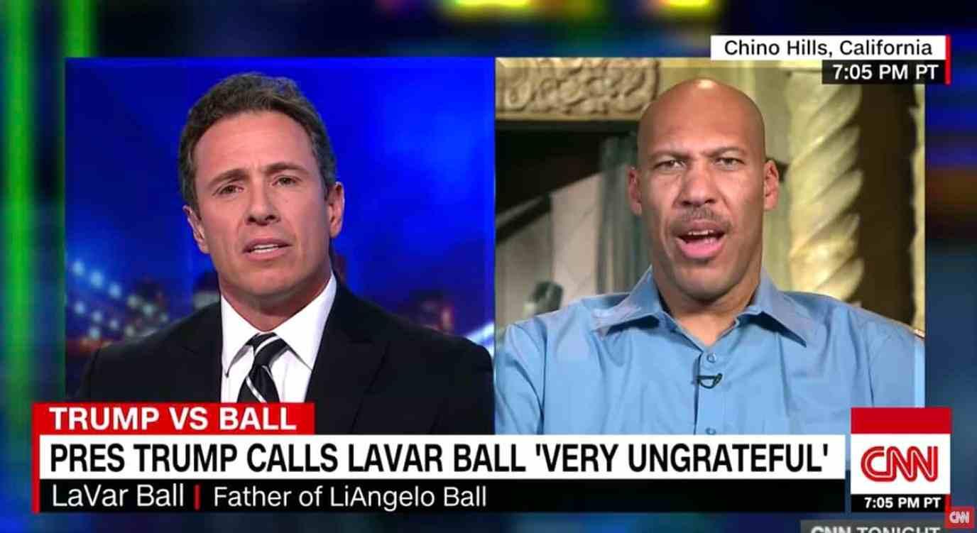 LaVar Ball interview