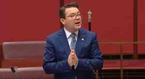 gay Australian senator Dean Smith