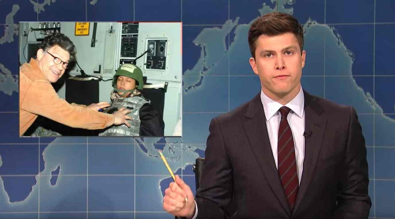 Al Franken SNL Weekend Update
