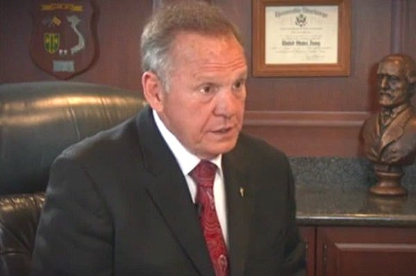 Alabama Official Uses Bible to Defend Senate Candidate Roy Moore
