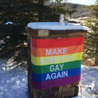 Mike Pence Trolled by Aspen Neighbors: 'Make America Gay Again'