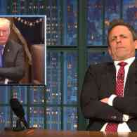 Seth Meyers Gags at the Sycophantic Republicans Kissing Trump's Rear Over the Tax Bill: WATCH