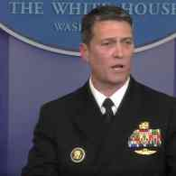 Trump VA Pick Ronny Jackson Withdraws Nomination