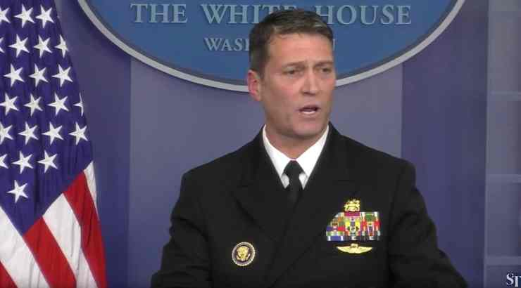 ronny jackson obese trump